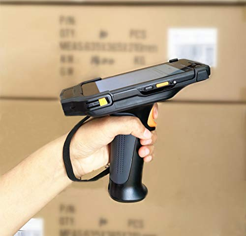 """Upgraded 4G LTE Android Barcode Scanner Pistol Grip Handheld Mobile Computer 5"""" Touch Screen with Honeywell N6603 1D 2D Code Reader NFC GPS WiFi for Enterprise WMS"""