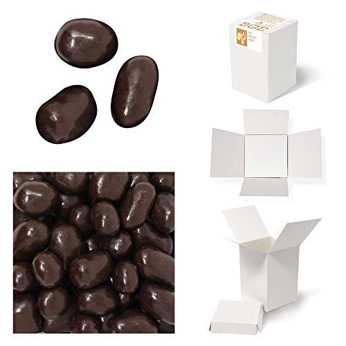 Bulk Gourmet Emporium - Jengibre bañado en chocolate negro, producto vegetariano, halal y sin envase de plástico, 500 gr