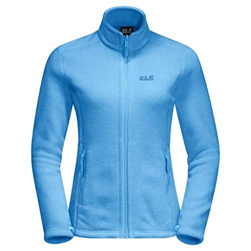 Jack Wolfskin Damen Moonrise Fleecejacke Jacke, Misty Blue, XS