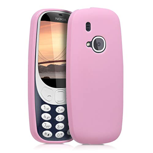 kwmobile Hülle kompatibel mit Nokia 3310 (2017) - Handyhülle - Handy Hülle in Altrosa matt