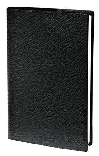 Pre Prestige 2021 Note Impala Schwarz Tisch-Kalender: Agenda Planing. 1 Woche auf 2 Seiten mit Tagesnotizen. 13 Monate: Dezember bis Dezember. Von 8.00 Uhr bis 21.00 Uhr. Mit Adressenverzeichnis