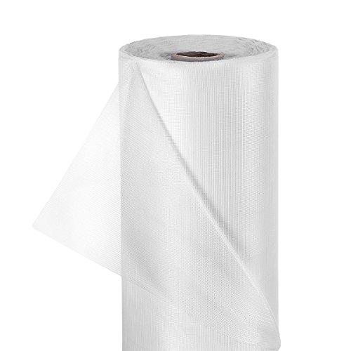 HaGa® Insektennetz Moskitonetz Fliegennetz in 150cm Breite weiß (Meterware)