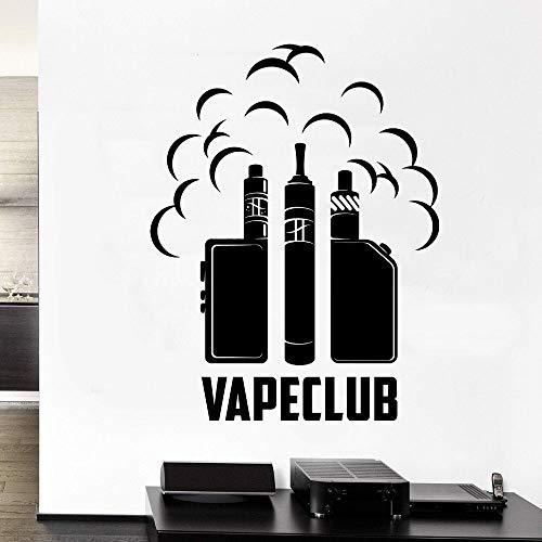 YuanMinglu Elektrischer Rauch Wandtattoo Aufkleber Shop und Home Aufkleber 91x118cm