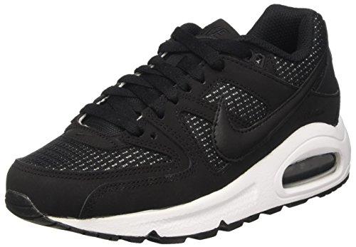 Nike Damen Women's Air Max Command Shoe Laufschuhe, Schwarz (Black/Black/White 091), 43 EU