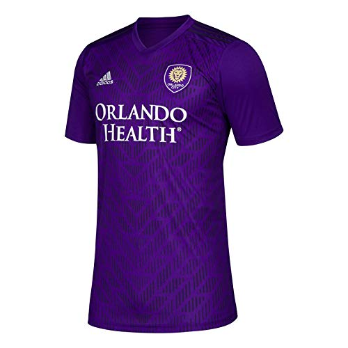 adidas MLS Men's Orlando City 2019 Bring The Noise Replica Team Jersey Purple X-Large
