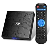 TUREWELL T9 Android 9.0 TV BOX 2GB RAM/16GB ROM Support 2.4/5.0Ghz WiFi BT4.0 RK3318 Quad-Core 4K 3D HDMI DLNA Smart TV BOX