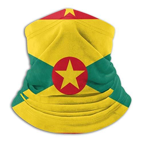 NR Grenada Flag Bequeme Kapuze mit Fleece-Nackenwärmer
