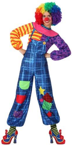 Atosa - 15664 - Costume - Déguisement De Clown Femme - Adulte - Taille 1