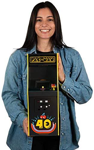 Quarter Arcades Offizielles PAC-Man 40-jähriges Jubiläum 1/4 Format Mini-Arcade-Kabinett von Numskull - Spielbarer Nachbau Einer Retro-Arcade-Spielmaschine