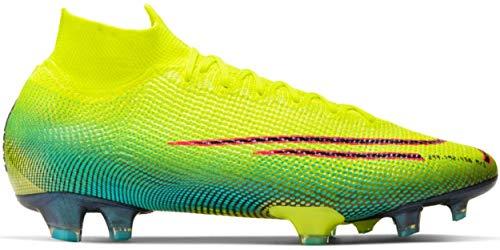 Nike Herren Fußball-Schuhe Mercurial Superfly 7 Elite MDS Fg Rasen, Farbe:Gelb, Größe:EUR 42