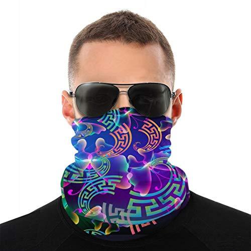 EU handgemaakte carnavalskostuums kleurrijke sjaals met verschillende turbandelen voor dames en heren