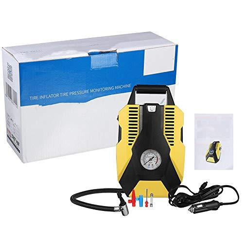 SDHN Compresor Digital portátil con la Bomba de la Bomba de Aire portátil de Emergencia del Coche luz 12V Recargable Snap-inflar para la Bola de Coches y Bicicletas Otros Inflables