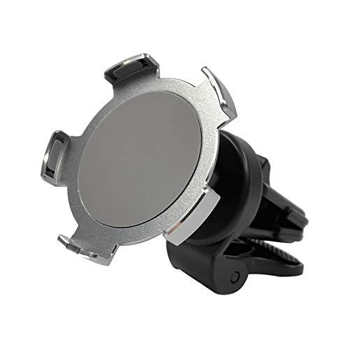 KKmoon Soporte Magnético para Cargador Inalámbrico Teléfono de Automóvil Portatelefonos para Ventilación de Automóvil reemplazao para i-Phone Serie 12 (cargador no incluido)