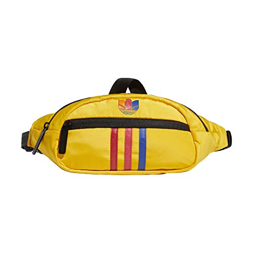 adidas Originals National Waist Pack Bag, Radiant Red/White, One Size
