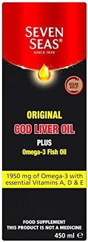 Seven Seas Orig Cod Liver Omega-3 Fish Max 53% OFF Oil 450ml Translated Plus