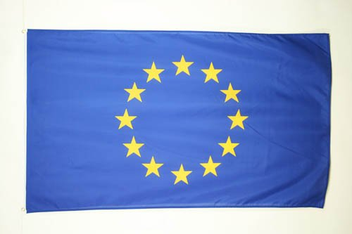 AZ FLAG Bandiera Europa 250x150cm - Gran Bandiera Unione Europea – UE 150 x 250 cm - Bandiere