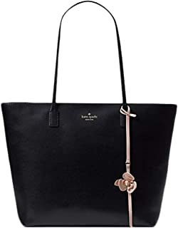 67072cabca331 Kate Spade New York Tote Purse Karla Flower Dangle Felicity Street