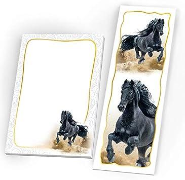 Notizblöcke Gastgeschenke Kindergeburtstag Pferd Mitgebsel Mädchen