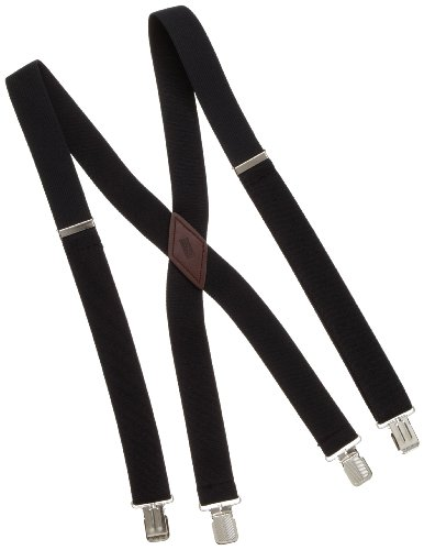 Levi's Men's Big And Tall Cotton Terry Suspender,Black,