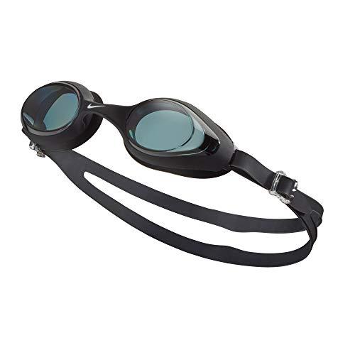 Nike Goggle Schwimmbrille, Unisex, Erwachsene, Unisex, NESSA185-001, schwarz (schwarz), Einheitsgröße