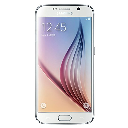 Samsung Galaxy S6 (SM-G920V) - 32GB Verizon + GSM Smartphone - White Pearl (Renewed)