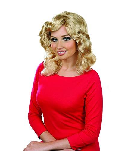 Fun Shack Blonde 70er Jahre Perücke für Damen, Promi Perücke - Einheitsgröße