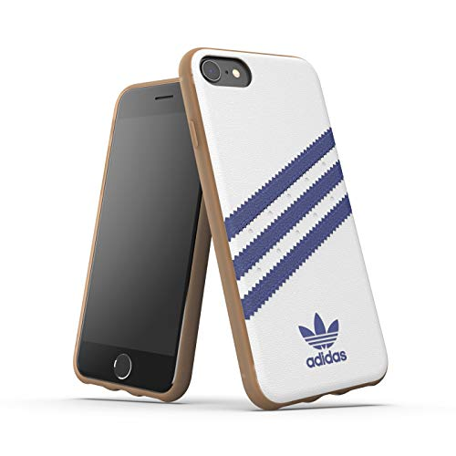 Adidas Originals Samba - Carcasa para iPhone 8/7/6S/6, Color Blanco