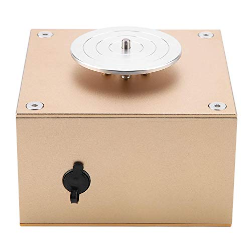 Elektrische Töpferscheibe Maschine, Mini Keramik Maschine für Ton Kunst DIY Handwerk 110-240 V(EU Plug)