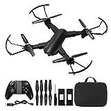 Powerextra Drone con fotocamera mobile App di controllo Drone con WiFi FPV HD 720P, avvio e...