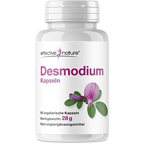Hochdosierter Desmodium Extrakt, Natürlicher Schutz der Leber, Bio-Qualität, Ohne Zusatzstoffe, 90 Kapseln