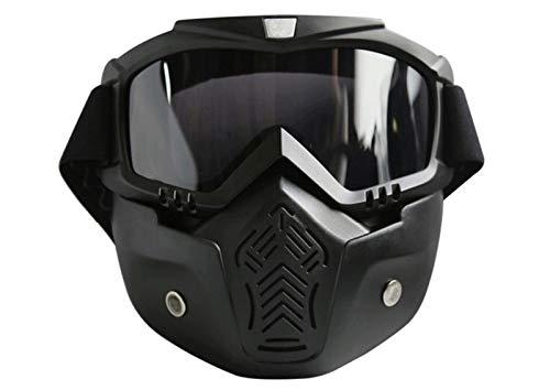 MissLi Máscara Retro Harley Personalizada, Gafas, Gafas De Carreras De Motos Todoterreno, Gafas para Montar Al Aire Libre (Color : 5)