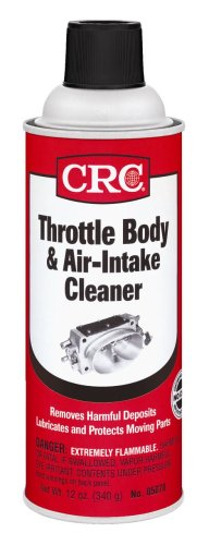 CRC Industries, Inc 05078 Throttle Body and Air-Intake Cleaner-12 Wt Oz, 12. Fluid_Ounces