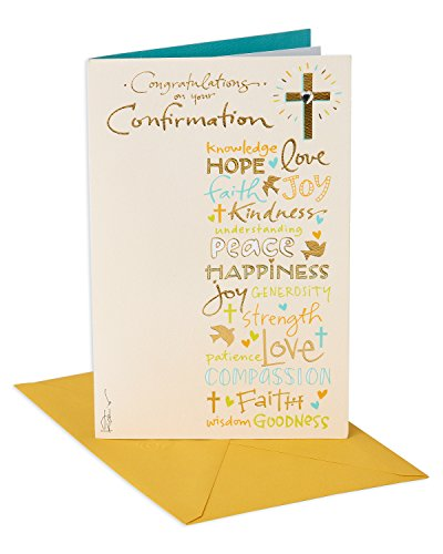 American Greetings Confirmation Card (Congratulations, Religious)