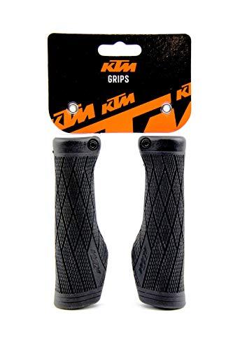 KTM MTB Fahrrad Lenker Griffe Ergo Design einfache Klemme Inkl. Schlüsselband