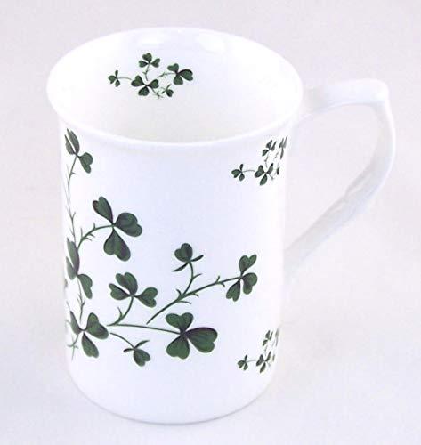 Shamrock Chintz - Fine English Bone China Mug - Made in England