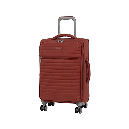 "it luggage 21.5"" Quilte Lightweight Carry-on, Burnt Brick, One Size"