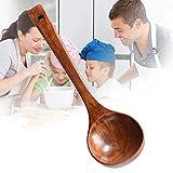 OUDE Lungo Manico in Legno Mestolo zuppa di Polenta Spoon Cucina Che Cucina da tavola Strumento Cucchiaio Cucchiaio casa Kid Cucchiaio Cucina per Zuppa di Riso