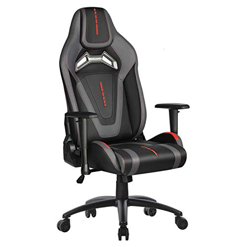 Furious Gaming Chair Racing Style Swivel Computer Gamer Chair with Fully Foam, Esports Video Game Chair, PU Leather Executive Office Chair with Lift...