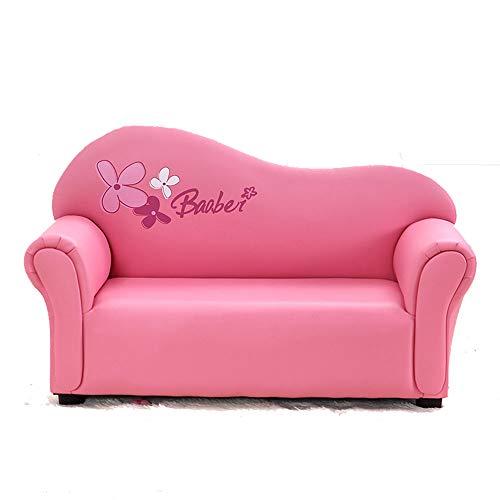 Aszhdfihas-sofa Divano per Bambini, Poltrona per braccioli per Bambini, Mobili Imbottiti per Soggiorno, Lettino per lettini Rosa Sedia, Sacchi di Fagioli del Salone (Colore : Dark Pink)