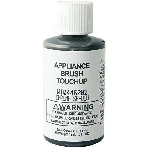 GENERIC W10446202 W144622 Appliance Brush-on Touch-up Paint (Chrome Shadow)
