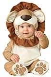 InCharacter Lovable Lion Infant Costume, Small Brown