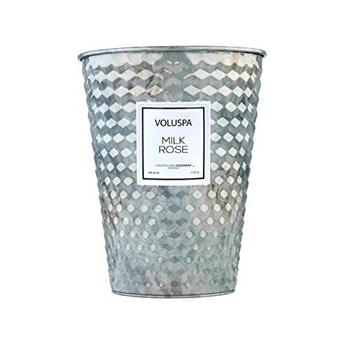 Voluspa Milk Rose 2 Wick Table Tin Candle, 26 Ounces