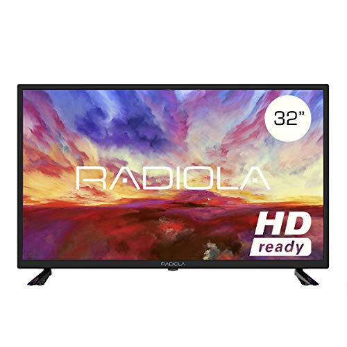 Televisor Led 32 Pulgadas HD, Radiola LD32100K. Resolución 1366 x 768, 3X HDMI, VGA, TDT2,...