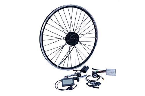 "NCB E-Bike Umbausatz 28 Zoll Vorderrad FWD 250W Kit Disc + V Brake Kabel wasserfest IP65 36V ENC36250-28-FWD 28"""