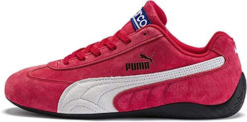 PUMA Unisex-Erwachsene Speedcat Og Sparco Sneaker, Band Rot Weiß, 23.5 EU
