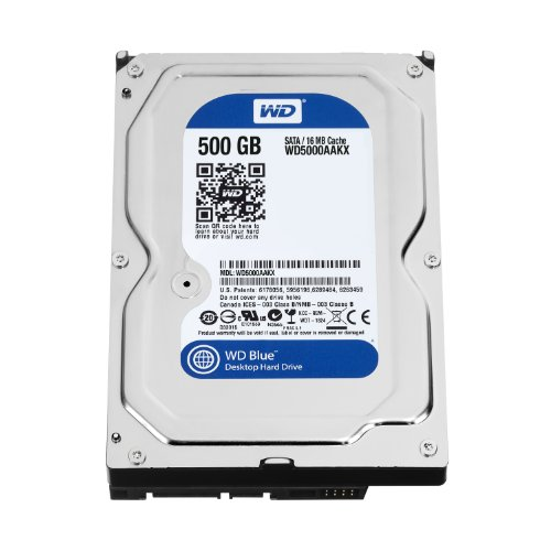 WD Blue Disque dur interne (Bulk) Desktop Mainstream 500 Go 3,5 pouces SATA 7200 RPM