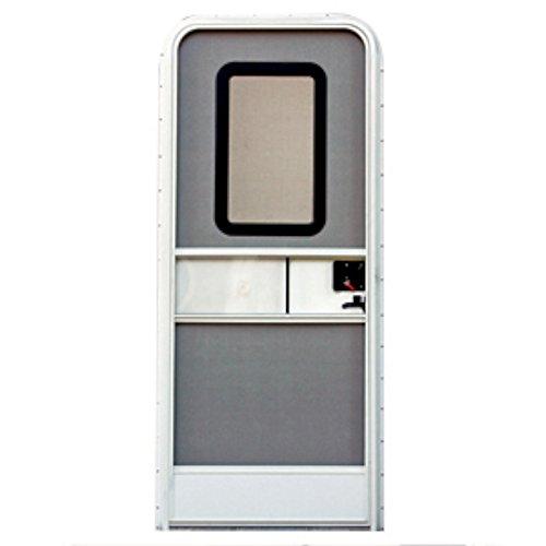 "AP Products 015-217709 Polar White 26"" x 72"" Right Handed Radius Entrance Door"
