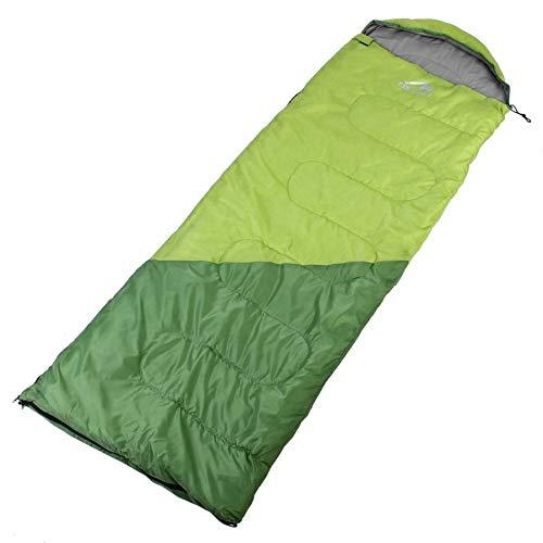 Générique Sac de Couchage Camping Militaire Coton Sac à Dos Enveloppe Style Lit 0~15 Degrés Portable Chaud Imperméable Sac de Couchage 1.7kg Nemo Sac de Couchage, Vert