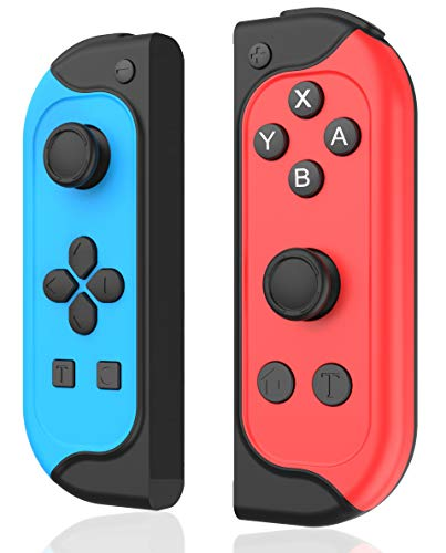 AQCTIM Switch Controller, Wireless Bluetooth Joystick Gamepad Switch Lite/Pro, Built-in Amiibo