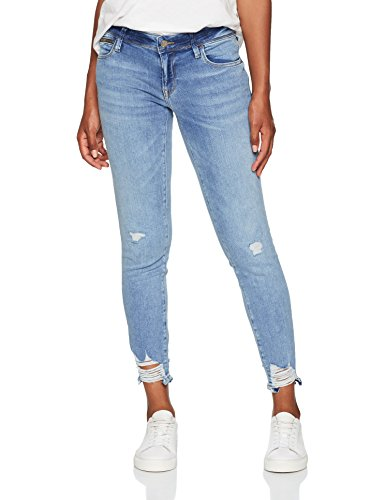 Mavi Damen Serena Ankle Skinny Jeans, Blau (Light Brushed Glam 23773), W30